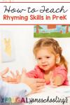 How to Teach Rhyming Skills to Preschoolers